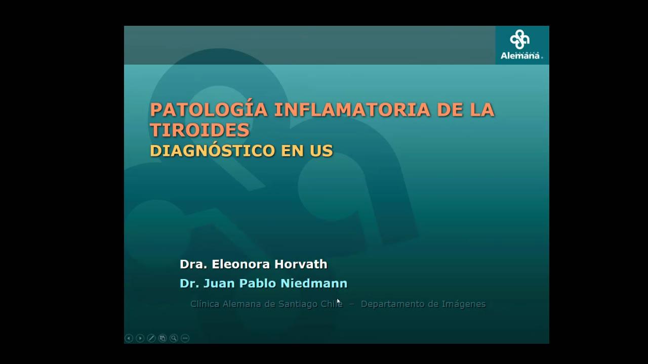 Patología inflamatoria de la tiroides