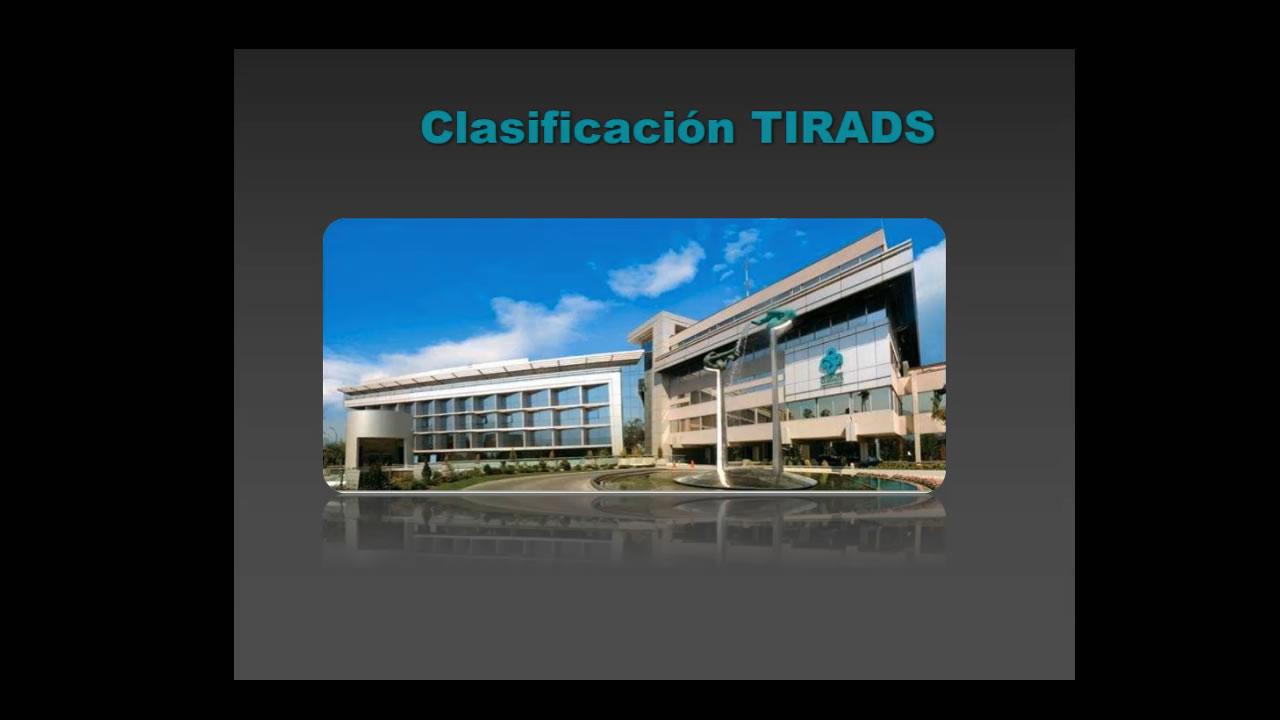 TI-RADS y cáncer de Tiroides