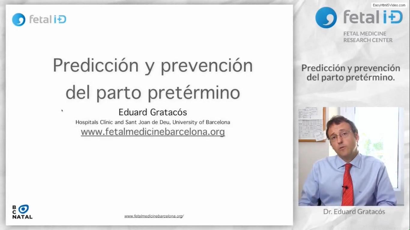 Predicción y prevención del parto pretérmino